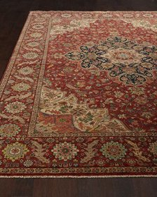 Exquisite Rugs Royal Garden Serapi Rug 6' x 9'
