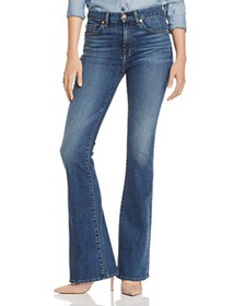 7 For All Mankind - Ali Flared Jeans in Blue Monda