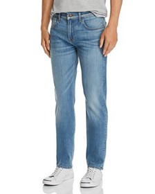 7 For All Mankind - Straight Slim Fit Jeans in Tra