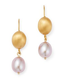 Bloomingdale's - Cultured Freshwater Pink Pearl Be