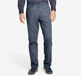 Johnston Murphy Regular Fit Brushed Heather Pants