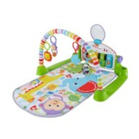 Fisher-Price Deluxe Kick & Play Piano Gym, Green
