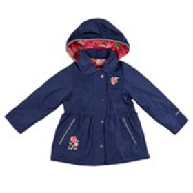 LONDON FOG Toddler Girls Floral Embroidered Anorak