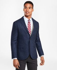 Brooks Brothers Two-Button Wool-Blend Twill Sport