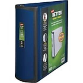 Staples Better 3-Inch D 3-Ring View Binder, Blue (
