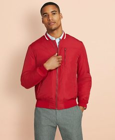 Brooks Brothers Nylon Bomber Jacket