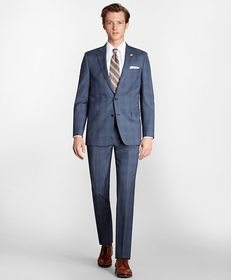 Brooks Brothers Regent Fit Check 1818 Suit