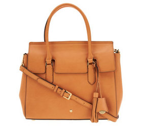 """As Is"" G.I.L.I. Leather Square Shopper - A346558"