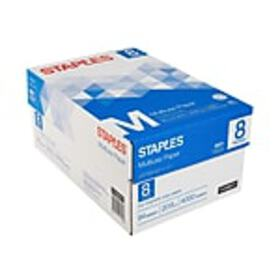 Staples Multiuse 8.5 x 11 Multipurpose Paper, 20 l