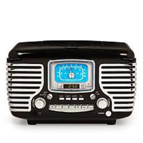 Crosley Corsair Bluetooth Alarm Clock Radio & CD P