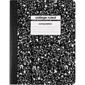 Staples Composition Notebook, 9.75 x 7.5, College