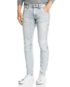 G-STAR RAW - 5620 3-D Skinny Fit Jeans in Sun Fade