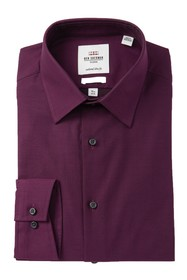 Ben Sherman Solid Stretch Tailored Slim Fit Dress
