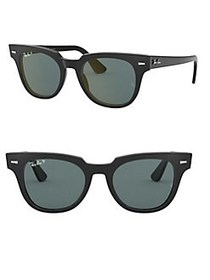 Ray-Ban RB2168 50MM Polarized Square Sunglasses BL