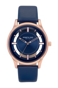 Kenneth Cole New York Men's Transparency Blue Watc