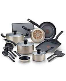 T-fal Culinaire 16-Pc. Nonstick Aluminum Cookware
