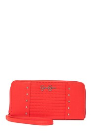 Jessica Simpson Tilly Studded Zippered Wallet