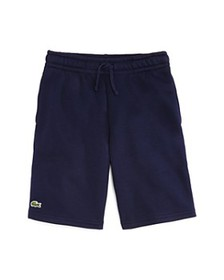 Lacoste - Boys' Logo Fleece Shorts - Little Kid, B