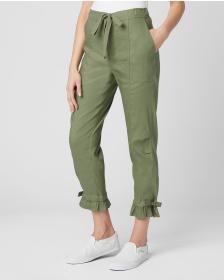 Juicy Couture WASHED LINEN PANT
