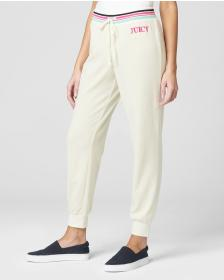 Juicy Couture EMBROIDERED JUICY LOGO VELOUR PANT