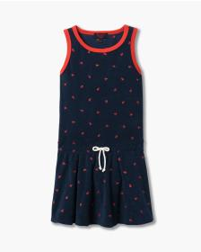 Juicy Couture ANCHOR EMBROIDERY MICROTERRY DRESS