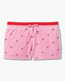 Juicy Couture ANCHOR EMBROIDERY MICROTERRY SHORT