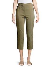 JONES NEW YORK Pull-On Slim Pants ARMY