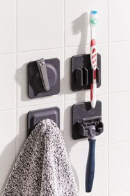 Tooletries Shower Organizer Tile - Set Of 4