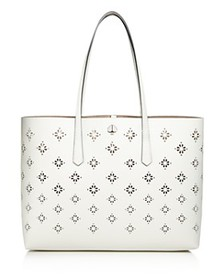 kate spade new york - Large Floral Perforated Tote