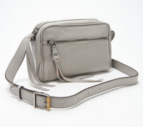 """As Is"" Aimee Kestenberg Leather Crossbody - Going"