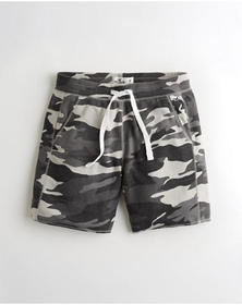 Hollister Beach Prep French Terry Short 7 in., BLA