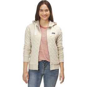 Patagonia Organic Cotton Quilt Hooded Jacket - Wom