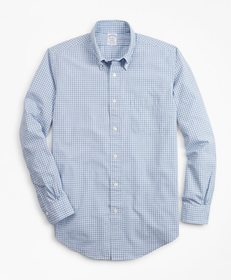 Brooks Brothers Regent Fit Gingham Seersucker Spor