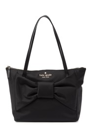 kate spade new york signature bow tote bag