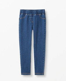 Hanna Andersson Play Denim Jeggings in Medium Play