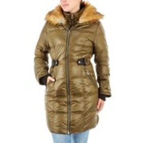 XOXO Juniors Parka with Removable Faux Fur Collar