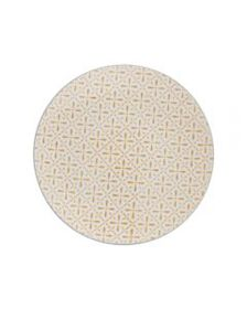 Pfaltzgraff Honey Geometric Salad Plate