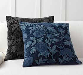 Pottery Barn Florence Embroidered Pillow Cover