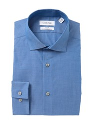 Calvin Klein Solid Slim Fit Dress Shirt