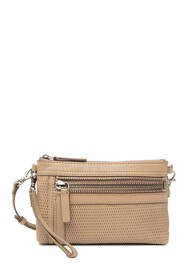 Frye Lena Perforated Leather Crossbody Bag