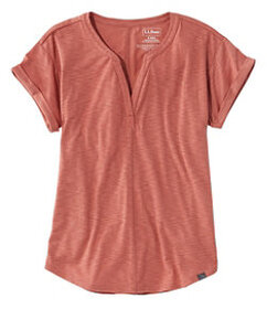 LL Bean Women's Short-Sleeve Streamside Tee