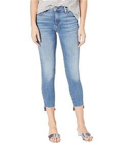 7 For All Mankind Ankle Skinny Step Hem in Pretty