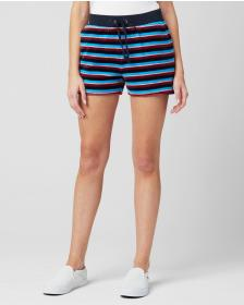 Juicy Couture STRIPED VELOUR TRACK SHORT