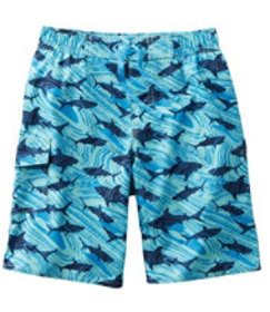 LL Bean Boys' BeanSport Swim Shorts, Print
