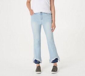 Peace Love World Indigo DenimJeans with Contrast H