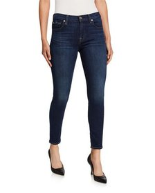 7 For All Mankind Gwenevere Skinny Ankle Jeans