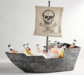 Pottery Barn Pirate Ship Party Bucket