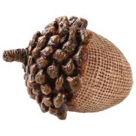 K&K Interiors Acorn with Pinecone Top