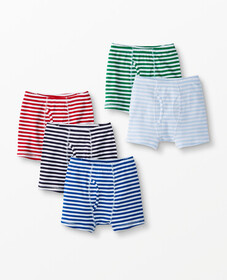 Hanna Andersson Boxer Briefs 5 Pack In Organic Cot