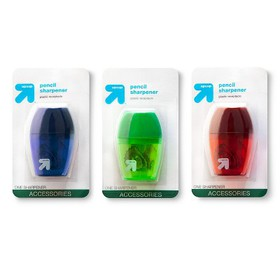 Pencil Sharpener 1 Hole 1ct Colors Vary - Up&Up